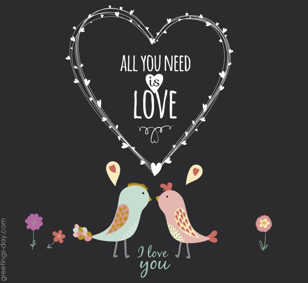 valentines day cute birds