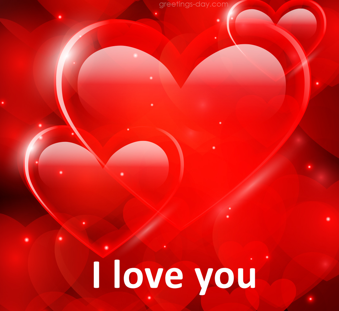Happy Valentines Days My Sweetheart Love Greetings Card