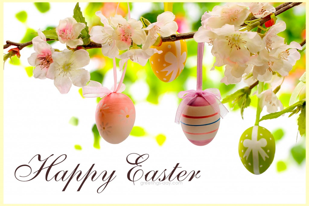 happy easter for friends