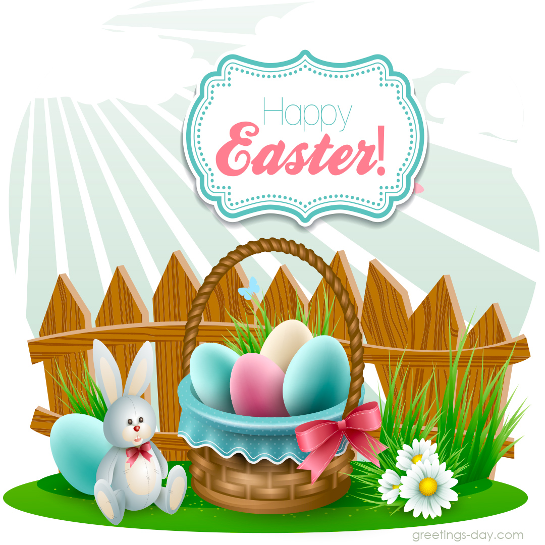 Happy Easter Bunny Cards Happy Easter Ecards Greeting
