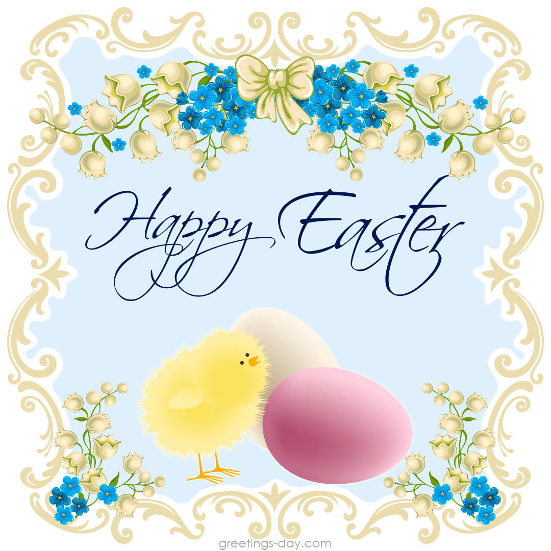 Happy Easter images ecard