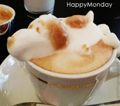 Happy Monday to you