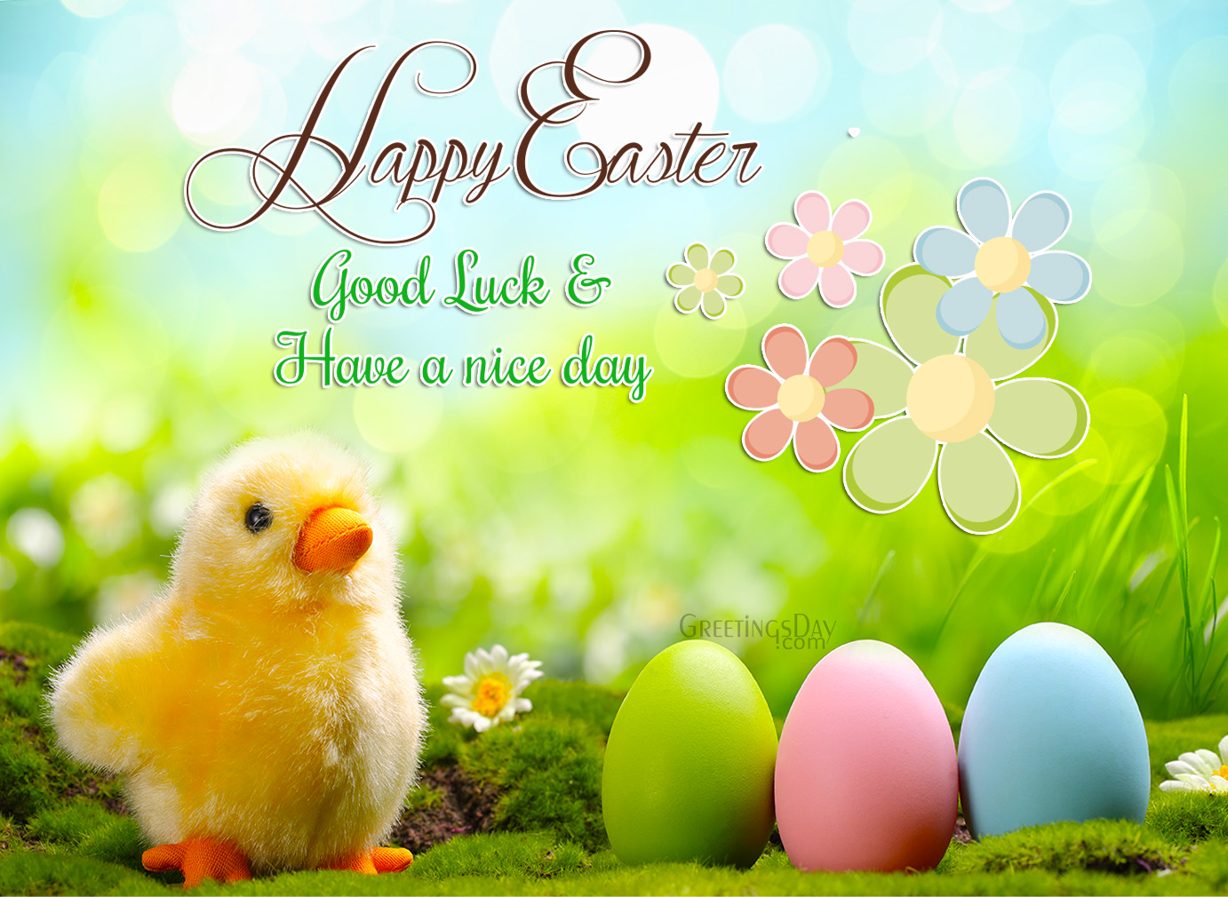 Happy Easter To All Of You ‹� Easter ‹� Greeting Cards