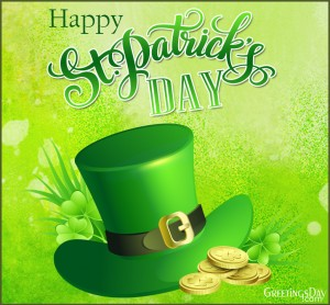 Happy StPatrick's Day