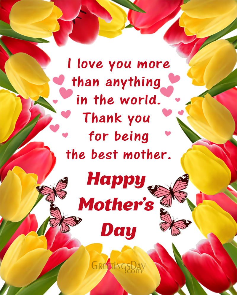 Mother's Day Wishes & Greetings