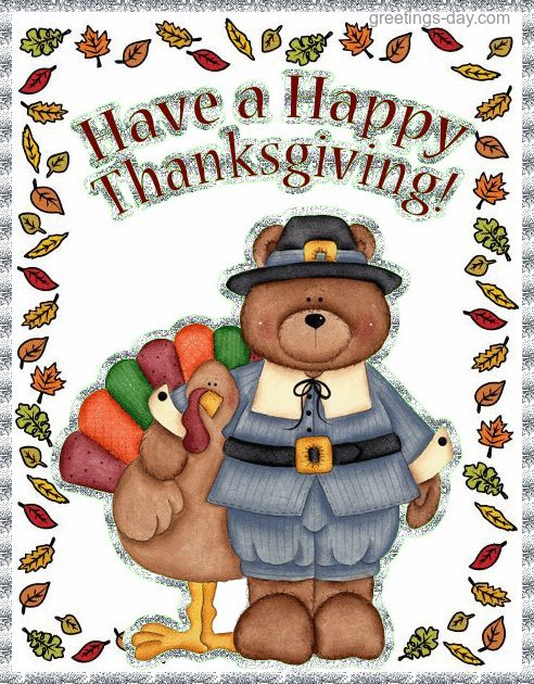 thanksgiving gif card animated