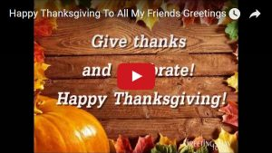 video thanksgiving music