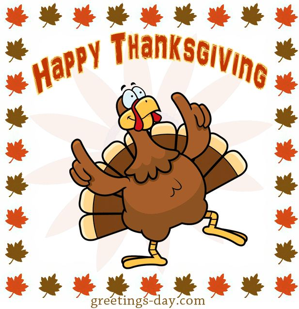 turkey animated thanksgiving