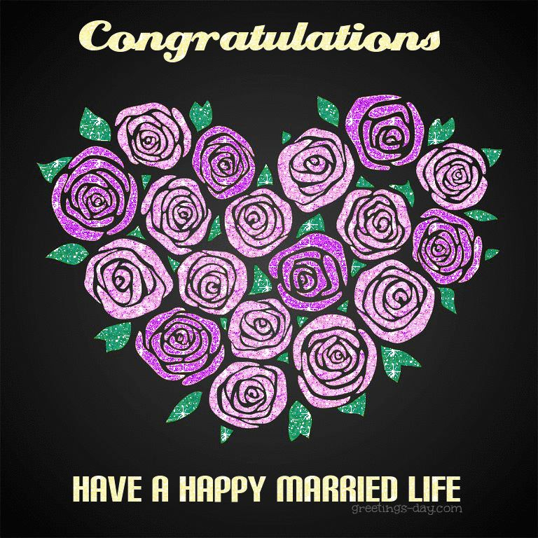 wedding congratulation card