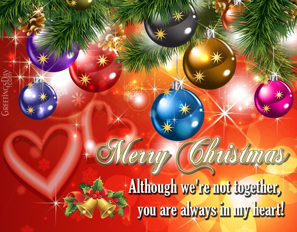 Love messages for Christmas