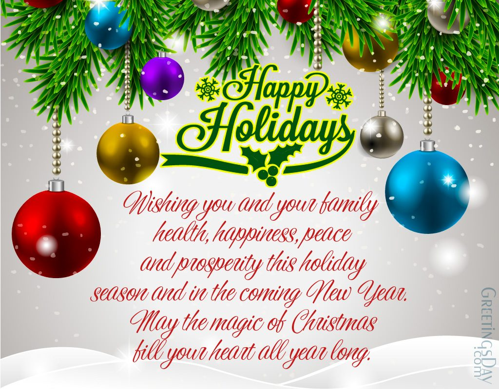 Holiday Wishes Quotes Quotes Of The Day