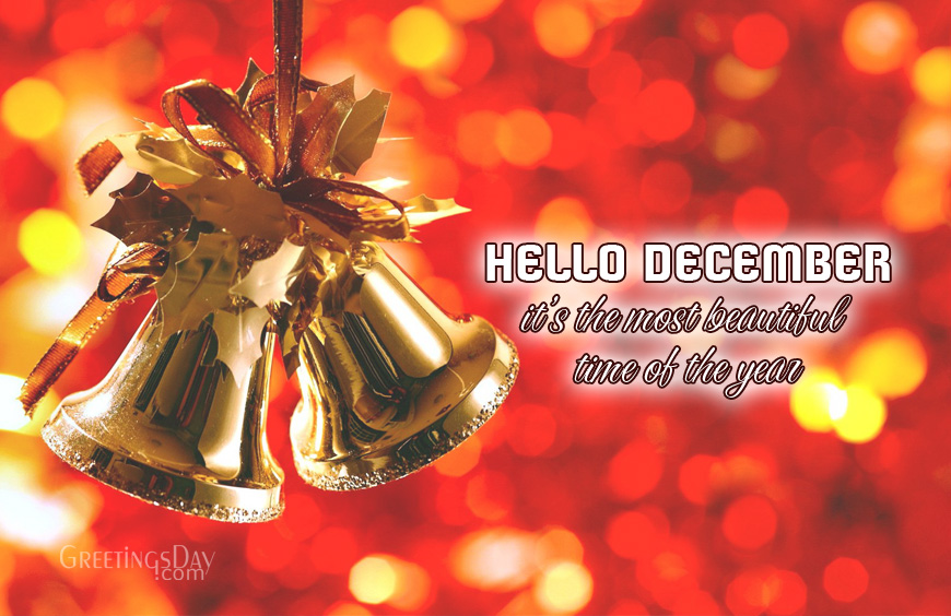Make My Wishes Come True Hello December Greeting
