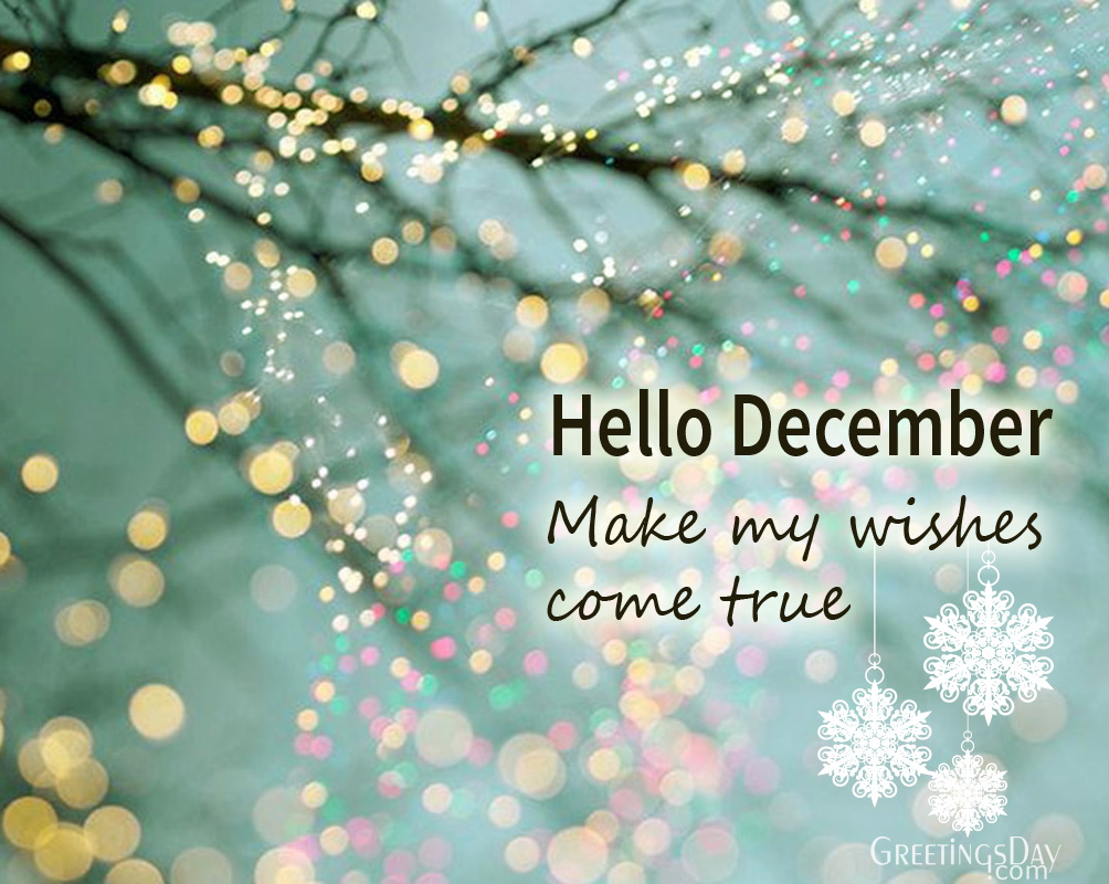 Hello December – Greeting Cards and Pics.