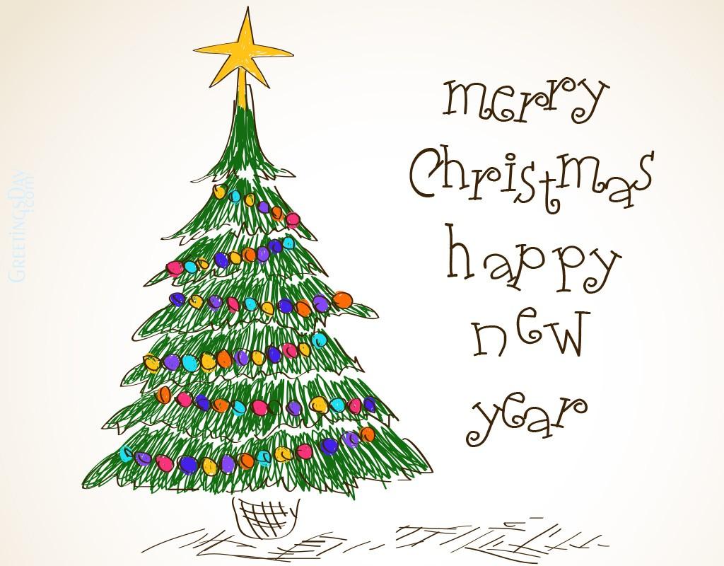 christmas kid draw