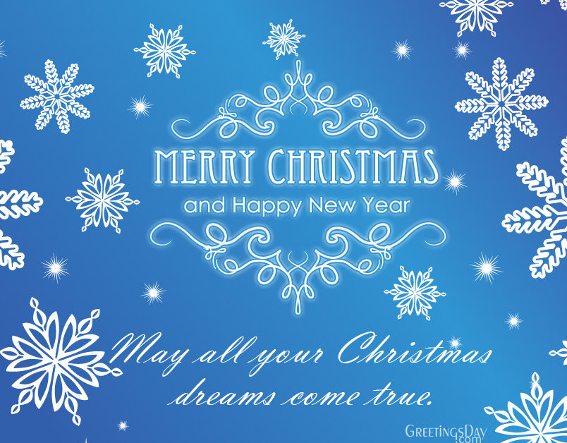 20 Christmas Greeting Cards & Wishes for Facebook Friends. ⋆ Cards ...