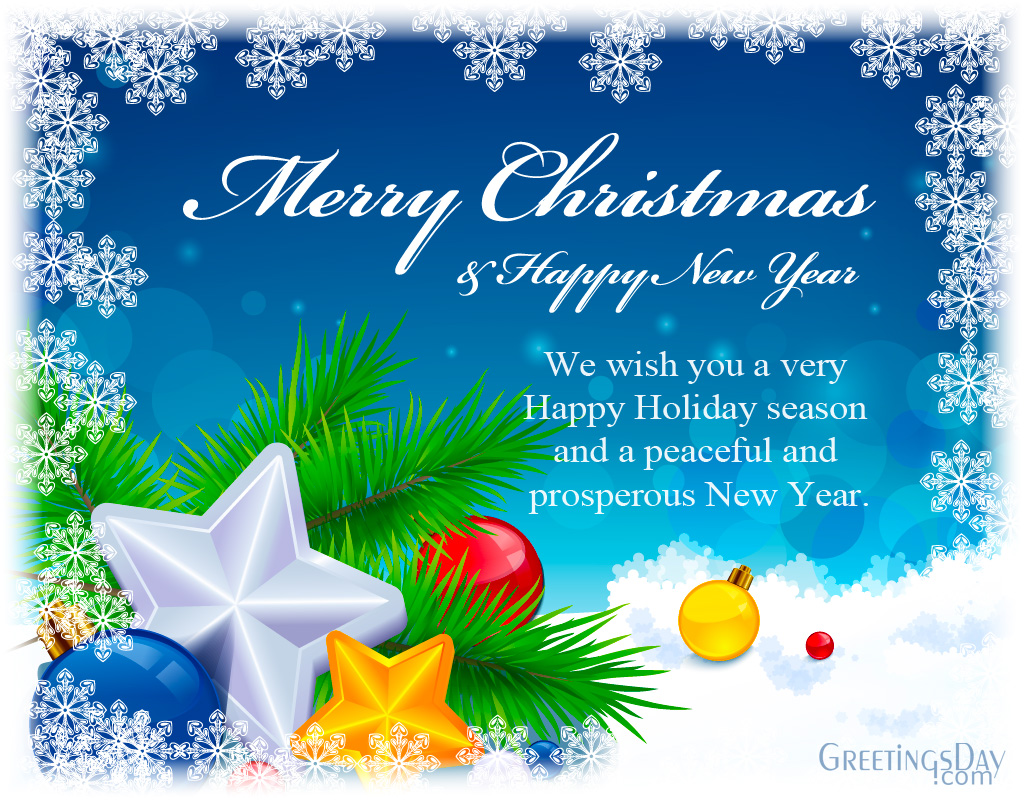20 Christmas Greeting Cards Wishes For Facebook Friends Merry