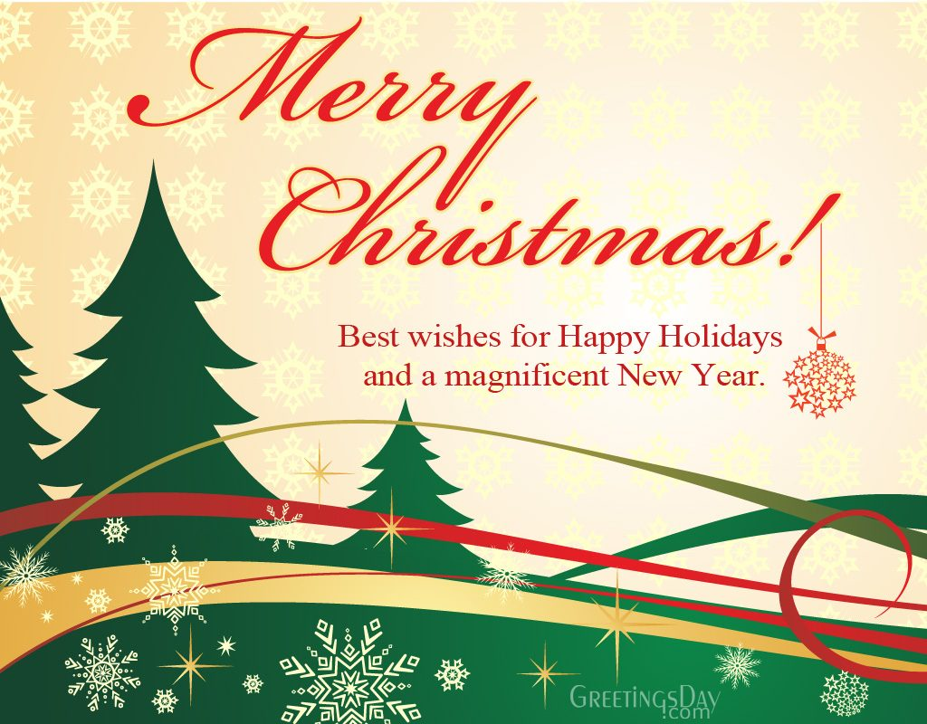 christmas ecard wish