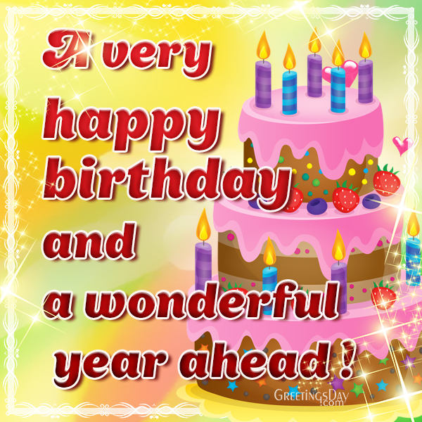 Birthday greeting cards pictures animated gifs happy birthday wish m4hsunfo