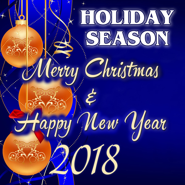 happy holidays and happy new year cards