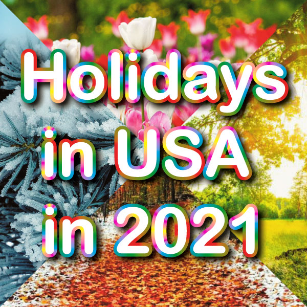 Holidays and observances in United States in 2021
