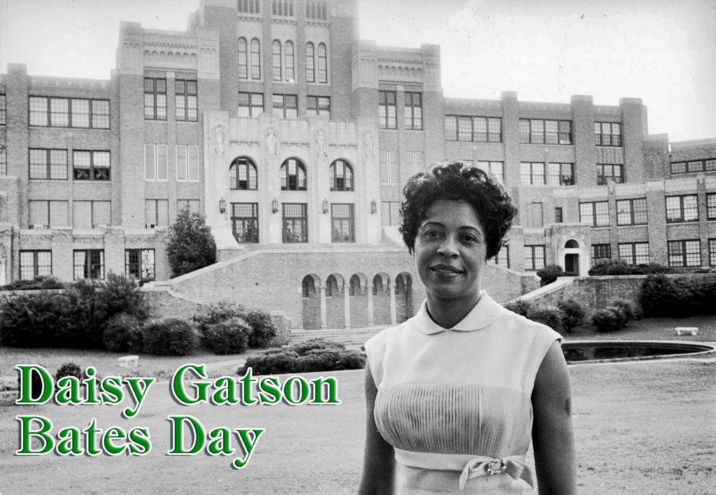 Daisy Gatson Bates Day 2018