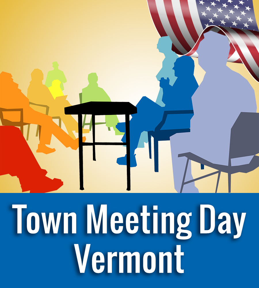 Town Meeting Day Vermont