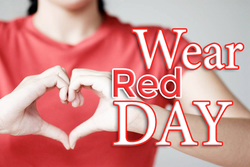 wear red day 2018