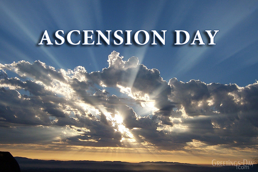 Ascension Day celebrated/observed on May 21, 2020 ⋆ Cards ...