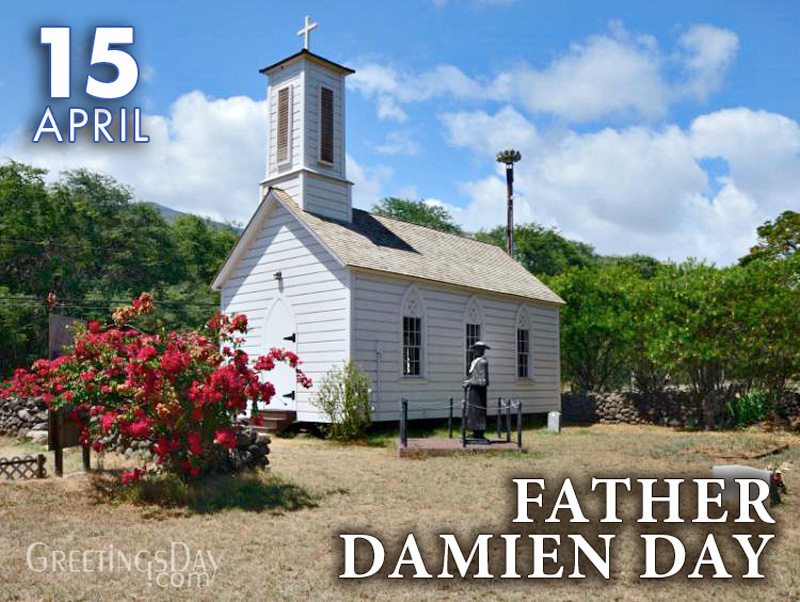 Happy Father Damien Day