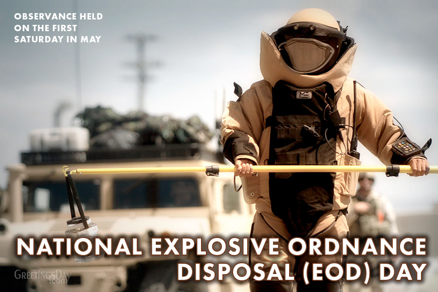 National Explosive Ordnance Disposal (EOD) Day