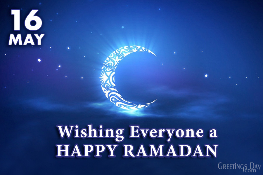 Wishing Everyone a HAPPY RAMADAN