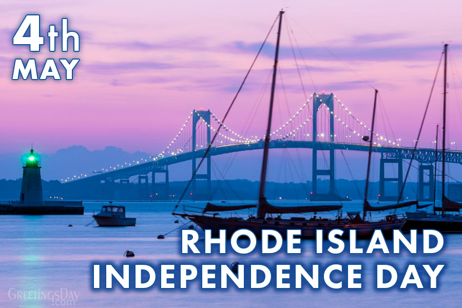 Happy Rhode Island Independence Day