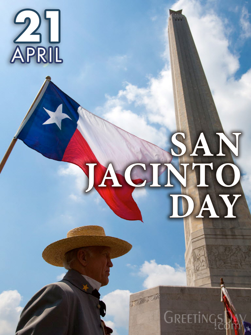 Happy San Jacinto Day