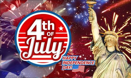 Happy Independence Day in USA