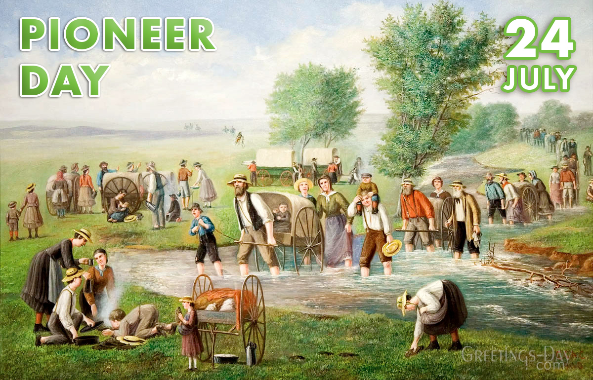 Mormon Holiday Pioneer Day