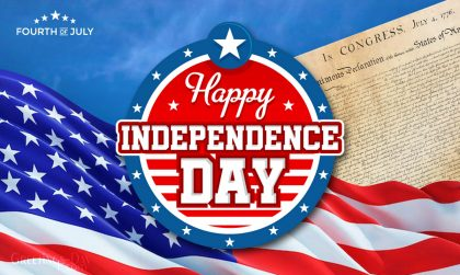 fourth of July Declaration of Independence