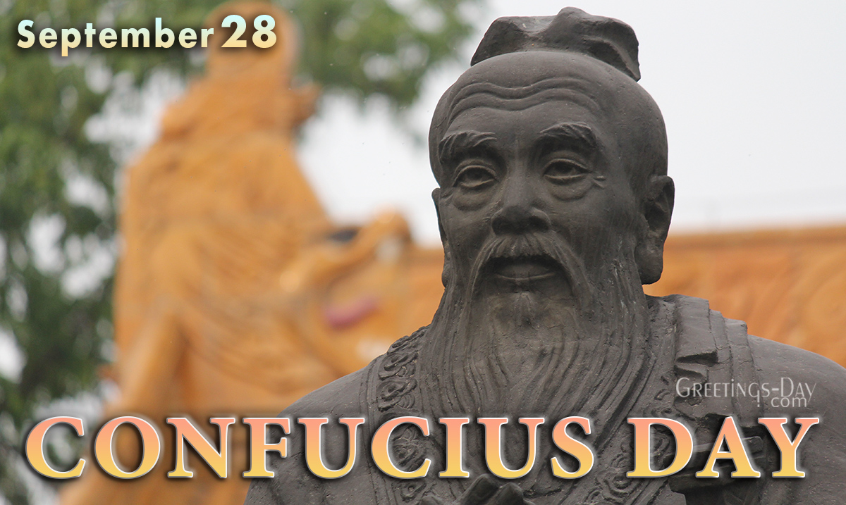 Happy Confucius Day
