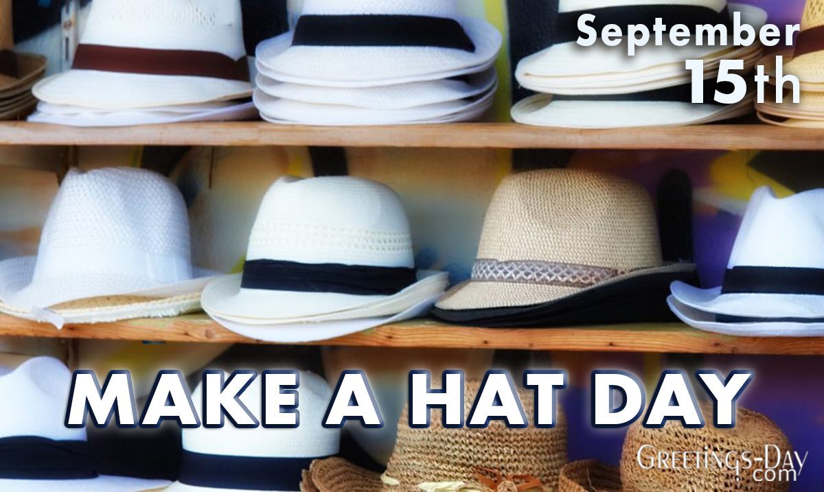 Make a Hat Day