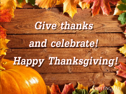 Thanksgiving Day Video Greeting