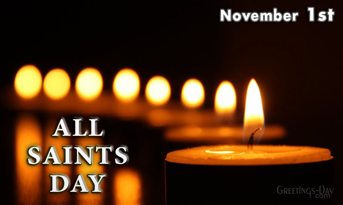 All Saints Day celebrated/observed on November 1, 2020 ⋆ Cards, Pictures. ᐉ  Holidays in the USA.