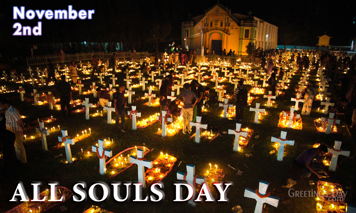 All Souls Day celebrated/observed on November 2, 2020 ⋆ Cards, Pictures. ᐉ  Holidays in the USA.