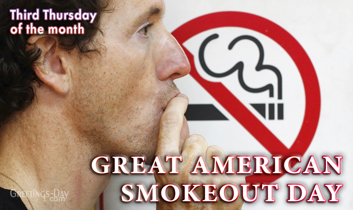 Great American Smokeout Day
