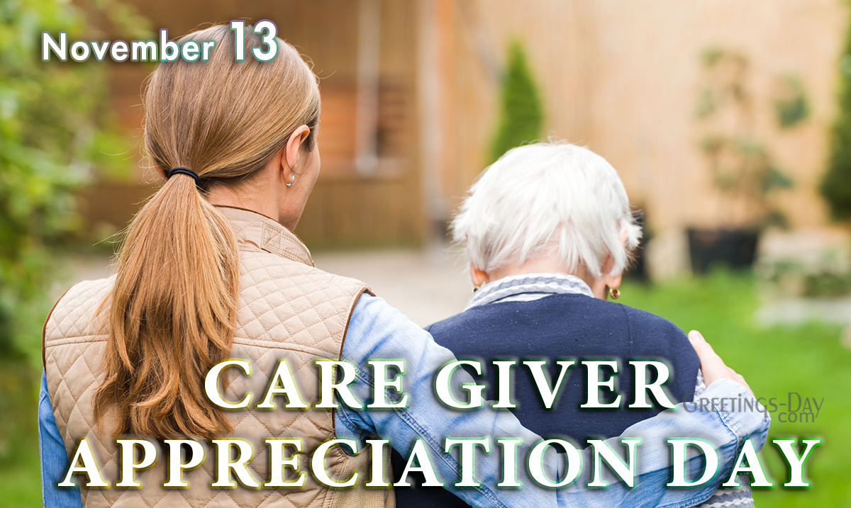 Care Giver Appreciation Day