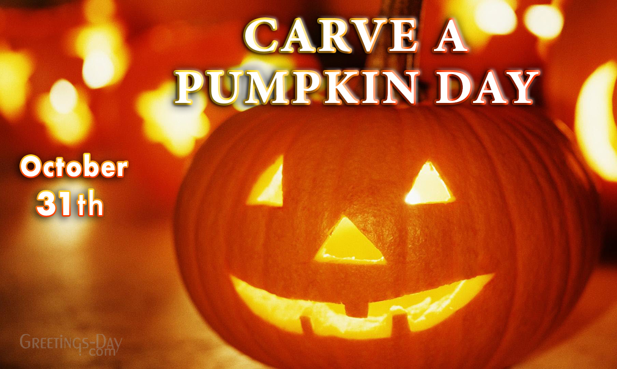 Carve a Pumpkin Day