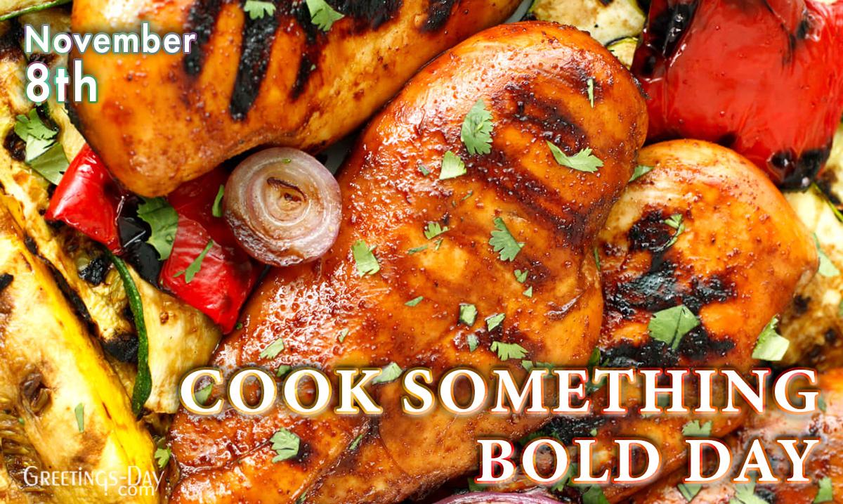 Cook Something Bold