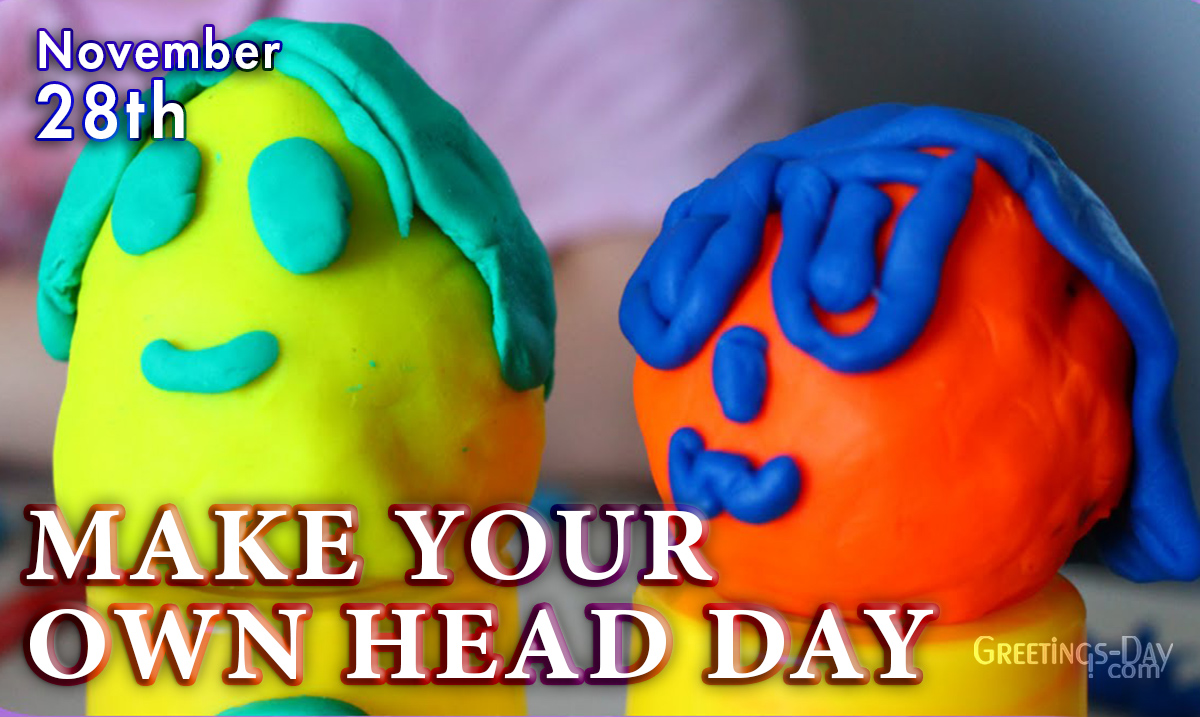 Make Your Own Head Day