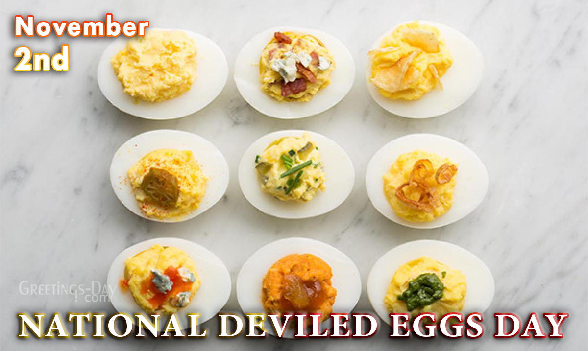 National Deviled Eggs Day