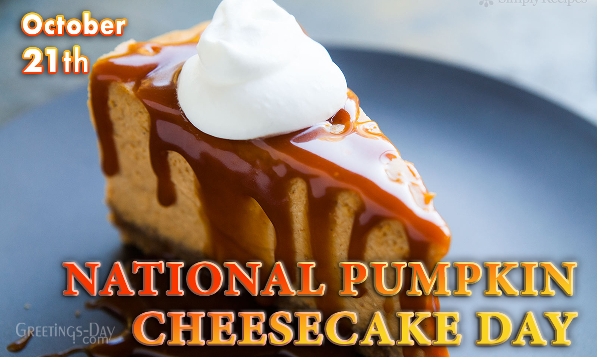 Pumpkin Cheesecake Day