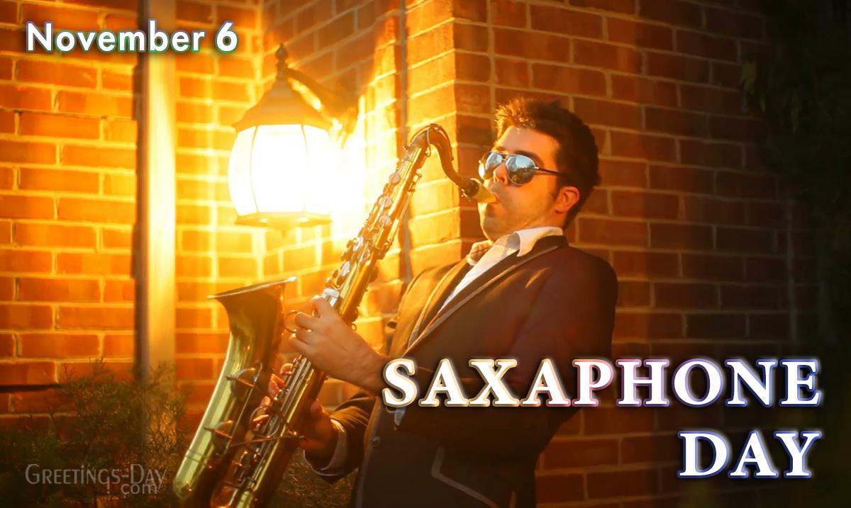 Saxaphone Day
