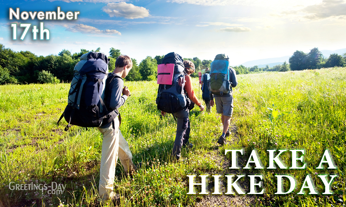 Take a Hike Day
